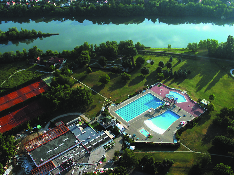 Ptuj Thermal Spa an der Drau